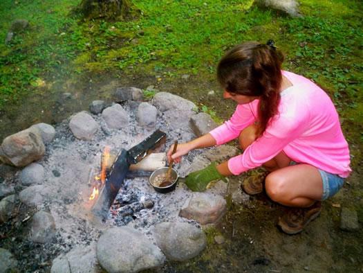 julie from julie journeys camping