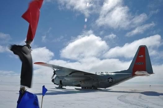 kaitlyn ross greenland plane