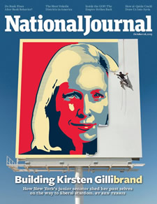 kirsten gillibrand national journal cover 2013-October