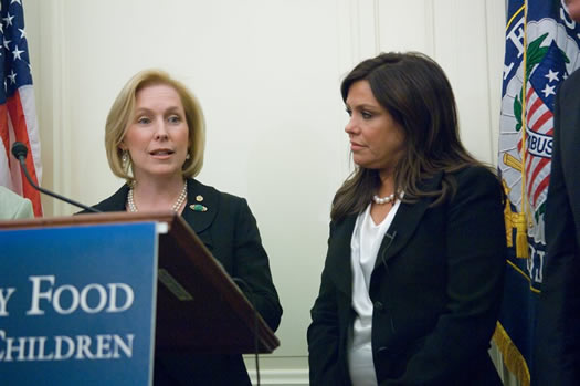 kirsten gillibrand and rachael ray