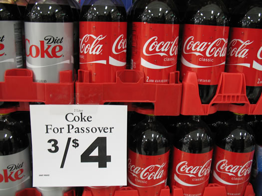 kosher for passover coke