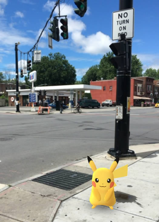 lark_street and madison pokemon go pikachu