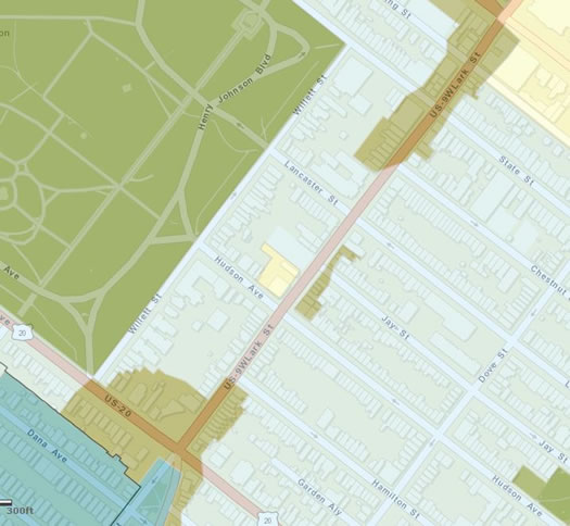 lark street zoning map