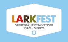 larkfest 2010 logo