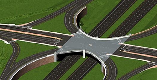 Latham Northway exit 6 SPUI rendering