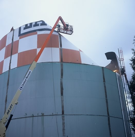 latham watertank tear down
