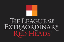 league of extraordinary red heads logo