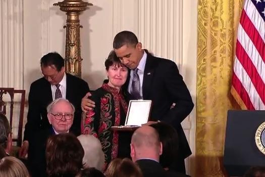 libby little barack obama medal of freedom