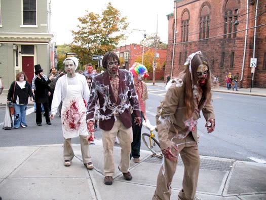 zombie walk 2010
