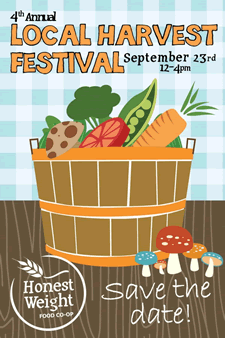 local harvest festival 2012 poster