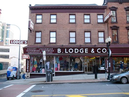 Lodge's exterior