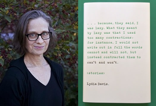 lydia davis can't and won't