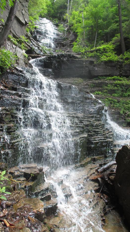 lye brook falls vermont