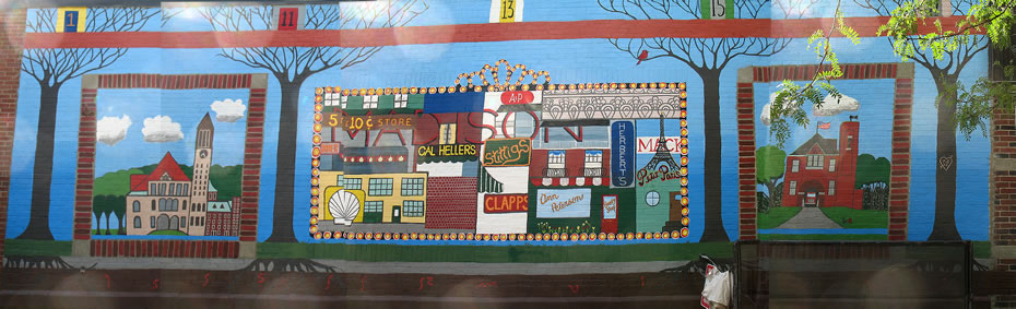 madison and main mural panorama