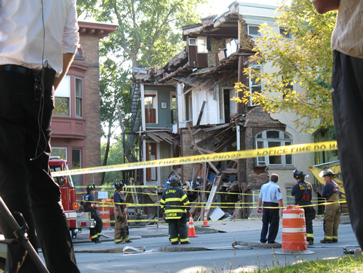 madison rowhouse collapse 3