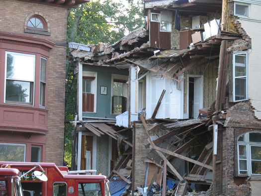 madison rowhouse collapse 5