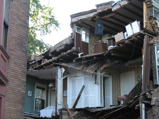 madison rowhouse collapse 7