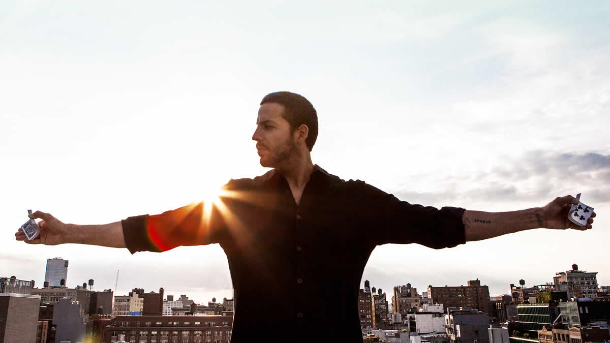 magician David Blaine