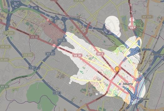 mapnificient albany