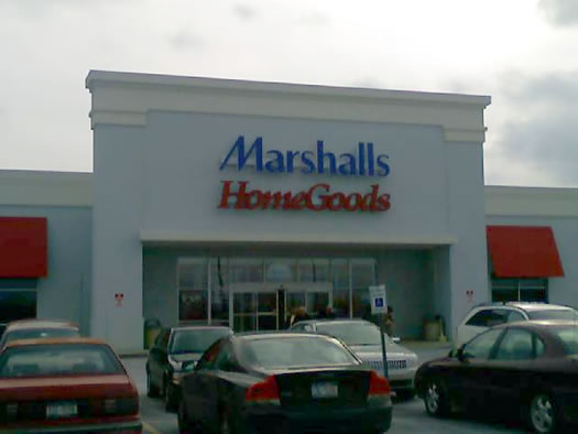 Marshalls sign outdoors