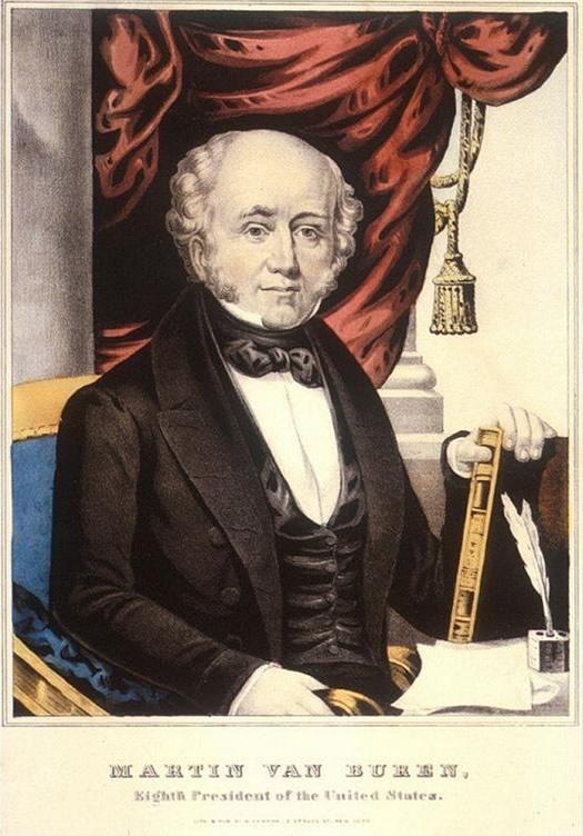 martin van buren portrait 1836