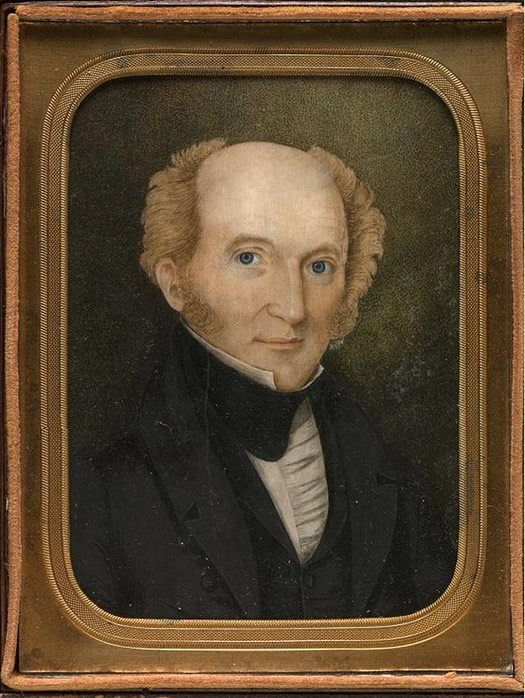 martin van buren portrait 1837
