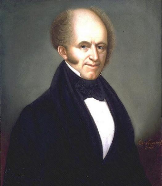 martin van buren portrait 1838
