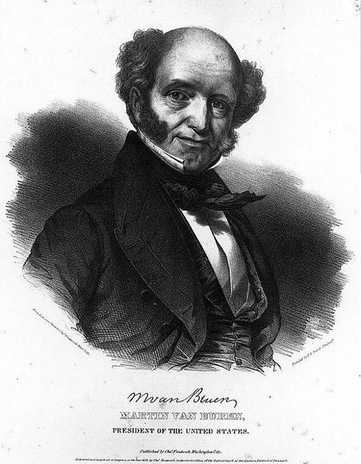 martin van buren portrait 1839