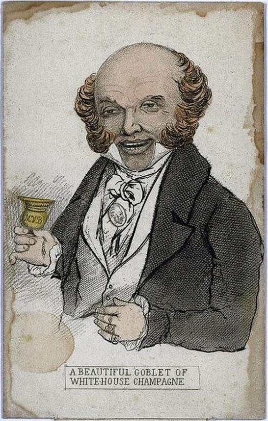 martin van buren portrait 1840