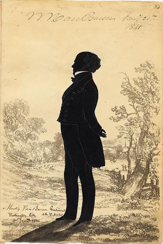 martin van buren portrait 1841