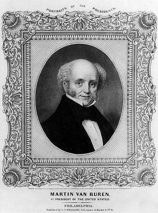 martin van buren portrait 1846