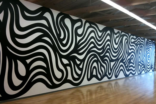mass moca lewitt black squiggle