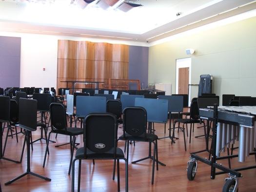 Massry rehearsal room