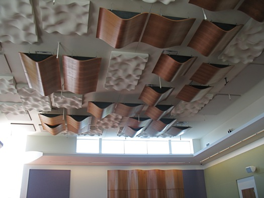 Massry rehearsal room ceiling