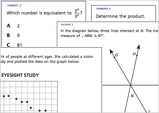 Can you answer these five 8th grade math questions correctly – Test of Genius Worksheet Answers