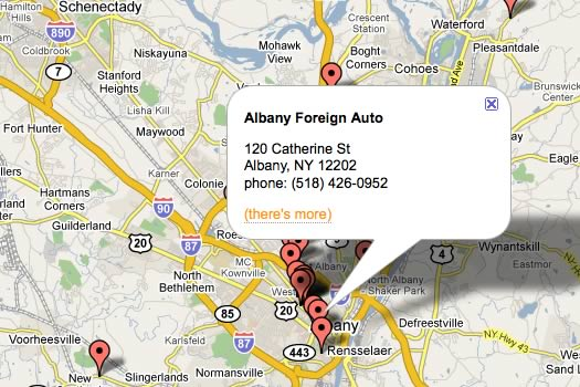 AOA mechanic map