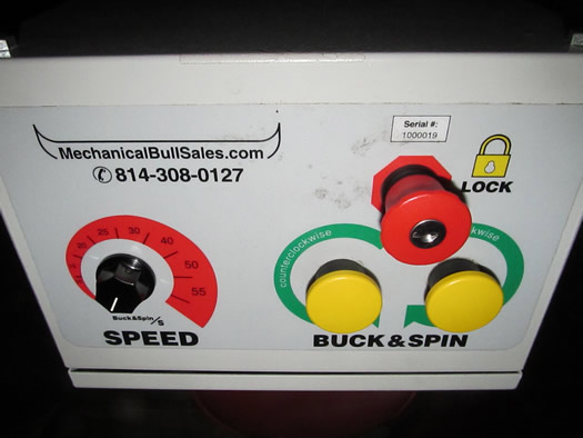 mechanical bull city beer hall controls