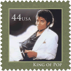 michael jackson fake stamp