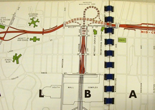 mid-crosstown arterial park willett map