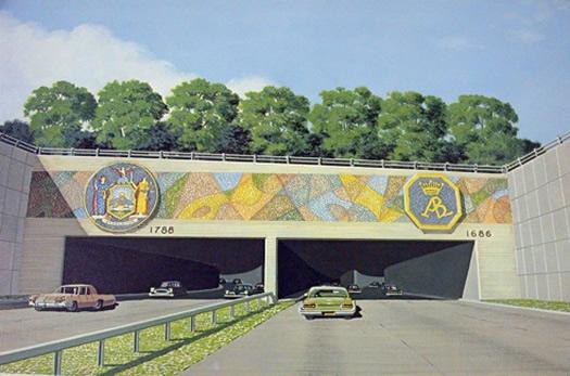 mid-crosstown arterial tunnel rendering