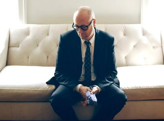 mike doughty on couch