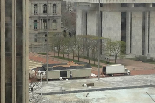 modular home on empire state plaza