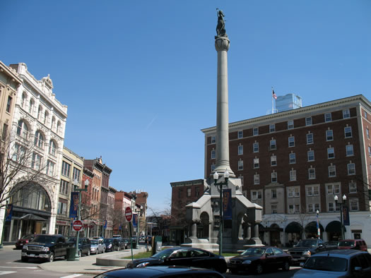 monument square Troy