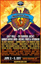 mountain jam 2011 poster