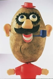 mr potatohead real potato