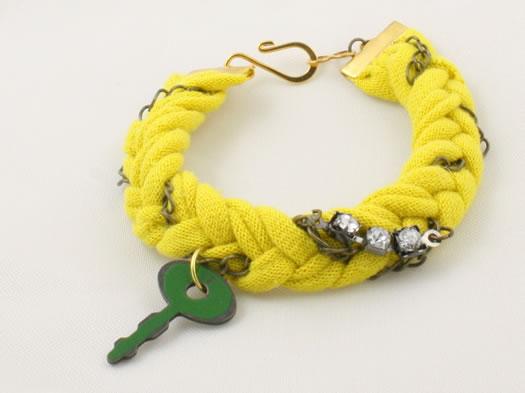 nadine medina jewelry key bracelet