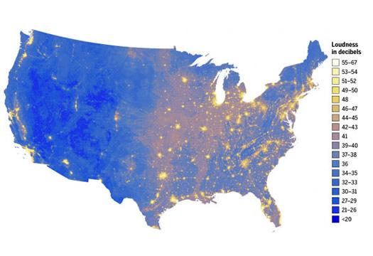 national park service noise map