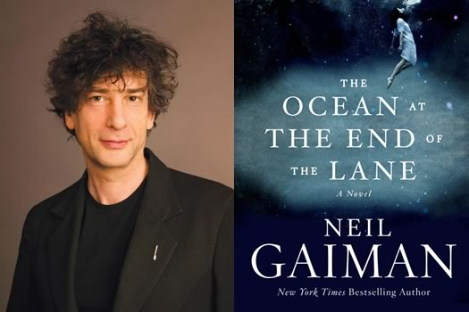 neil gaiman and ocean cover