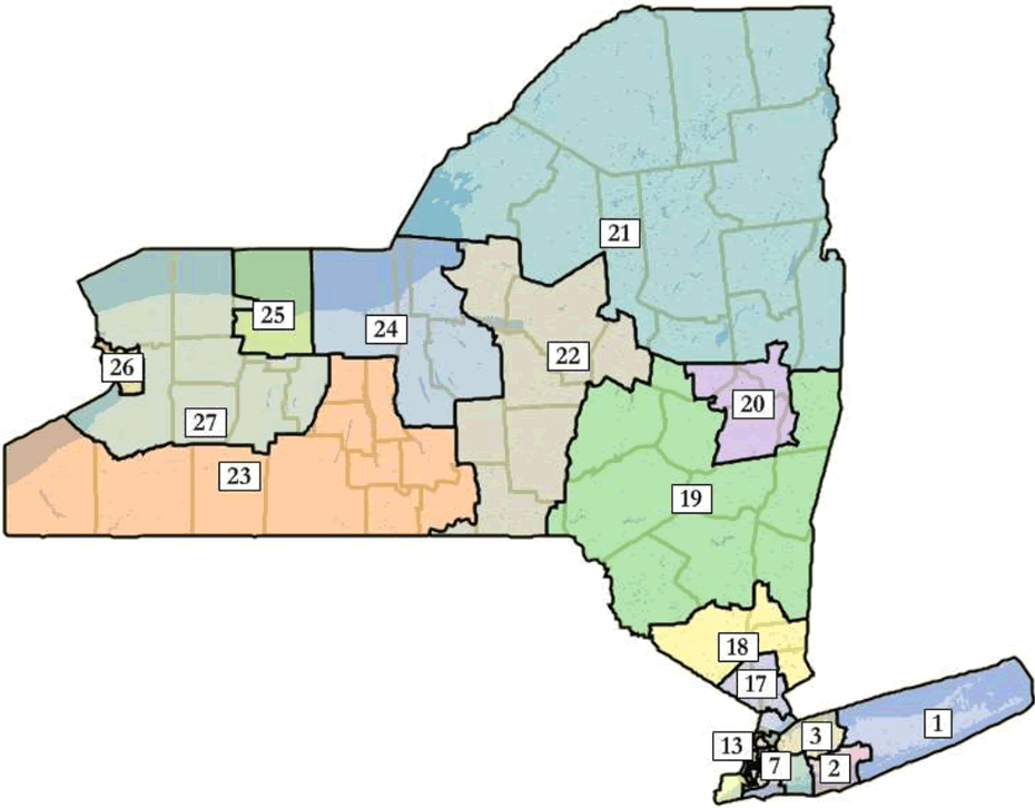 new york state congressional districts 2012