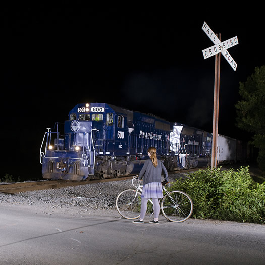 night train in Schaghticoke by william gill